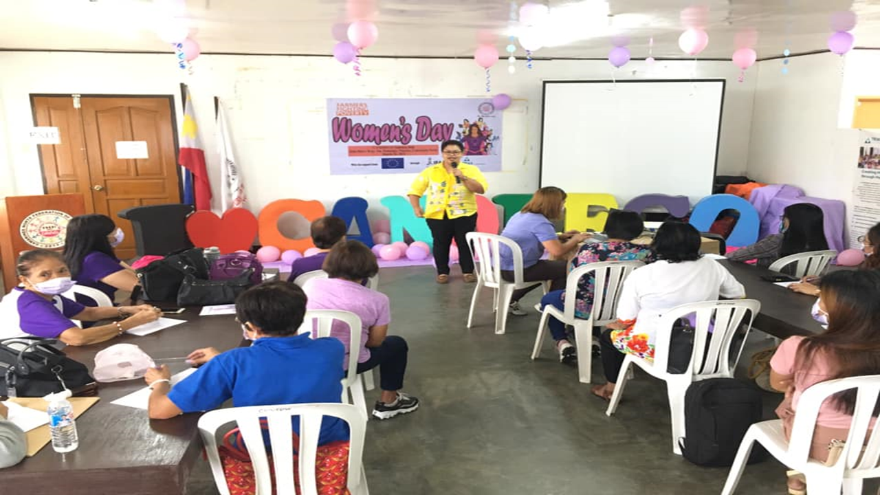 Ms. Michelle de Leoz Moll, Guidance Counselor at Mabini Colleges of Daet